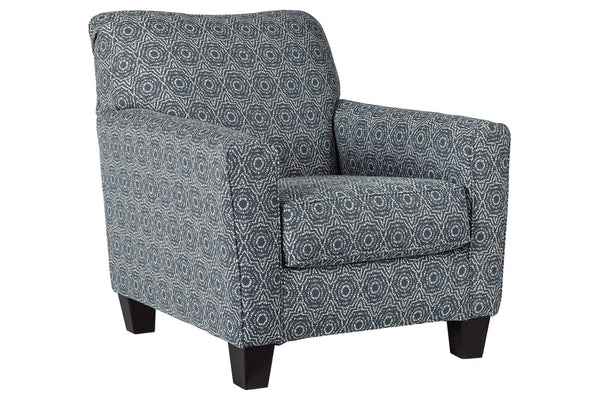 61204 Brinsmade Midnight Accent Chair