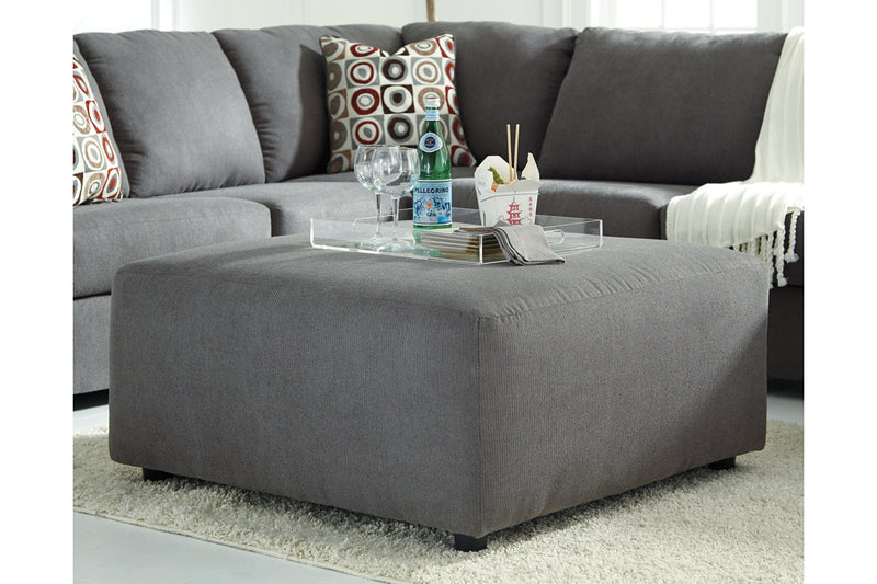 64902 Jayceon Steel Oversized Ottoman