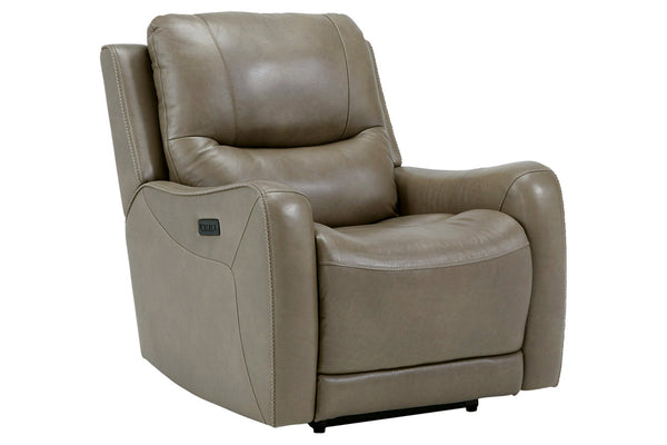 66102 Galahad Sandstone Power Recliner