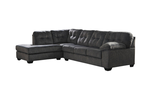 70509 Accrington Granite 2-Piece LAF Chaise Sectional