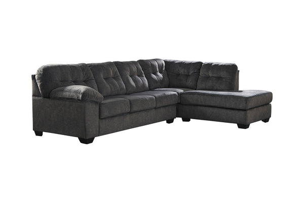 70509 Accrington Granite 2-Piece RAF Chaise Sectional
