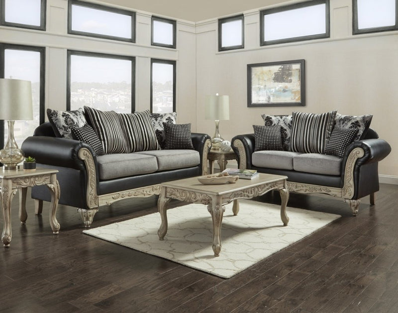 7100 Granada Dark Sofa & Loveseat