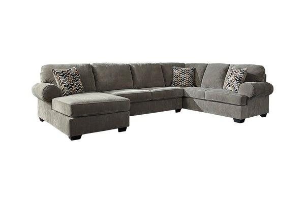 72502 Jinllingsly Gray 3-Piece LAF Chaise Sectional