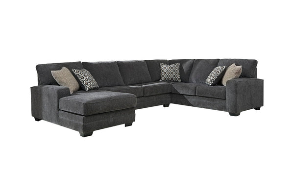 72600 Tracling Slate 3-Piece LAF Chaise Sectional