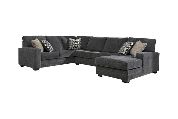 72600 Tracling Slate 3-Piece RAF Chaise Sectional