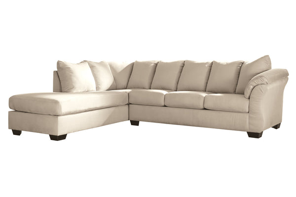 75000 Darcy Stone 2-Piece LAF Chaise Sectional