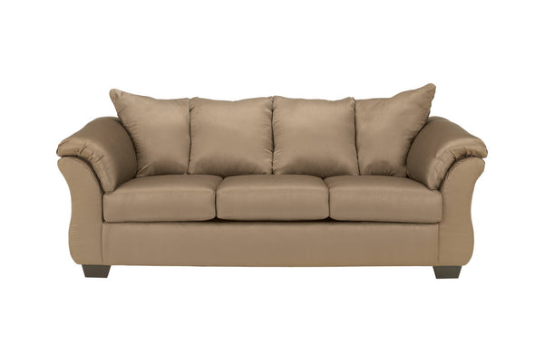 75002 Darcy Mocha Sofa & Loveseat