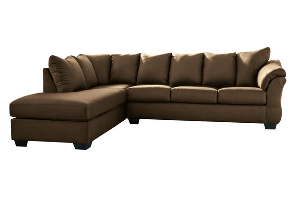 75004 Darcy Cafe 2-Piece Sectional LAF Chaise Sectional