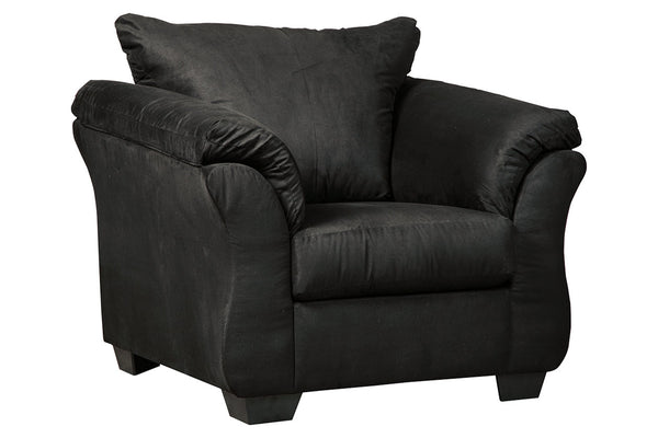 75008 Darcy Black Chair