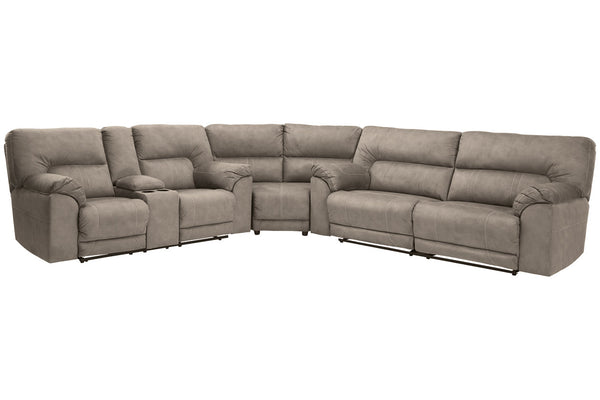 77601 Cavalcade Slate 3-Piece Reclining Sectional