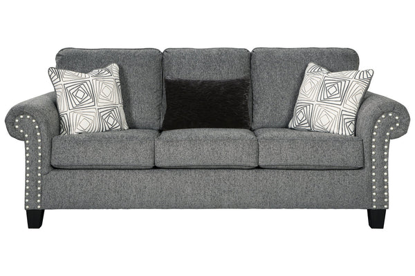 78701 Agleno Charcoal Sofa & Loveseat