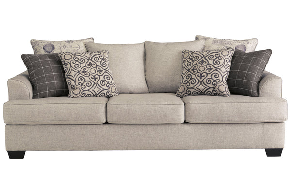 79604 Velletri Pewter Sofa & Loveseat
