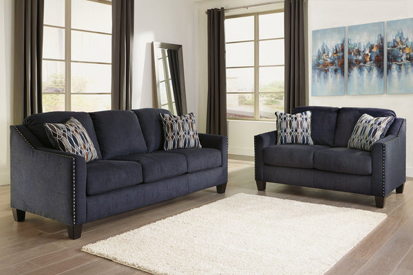 80202 Creeal Heights Ink Sofa & Loveseat