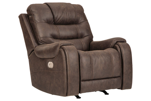 82002 Yacolt Walnut Power Recliner