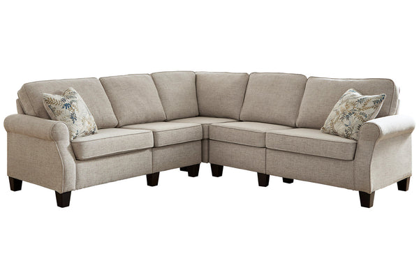 82404 Alessio Beige 3-Piece Sectional