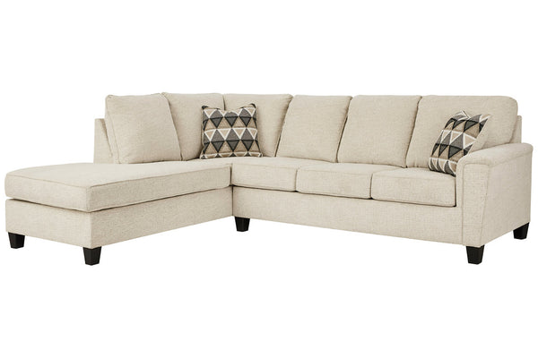 83904 Abinger Natural 2-Piece RAF Chaise Sleeper Sectional
