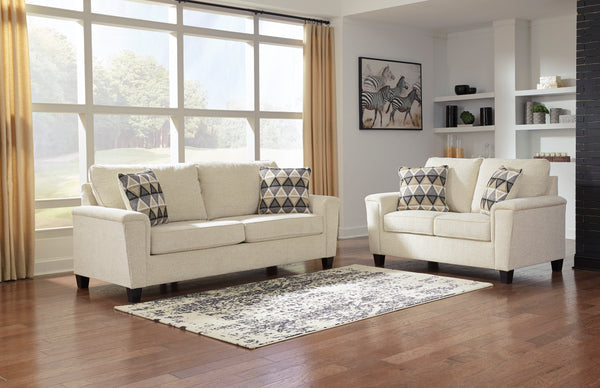 83904 Abinger Natural Sofa & Loveseat