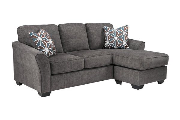 84102 Brise Slate Queen Sofa Chaise Sleeper