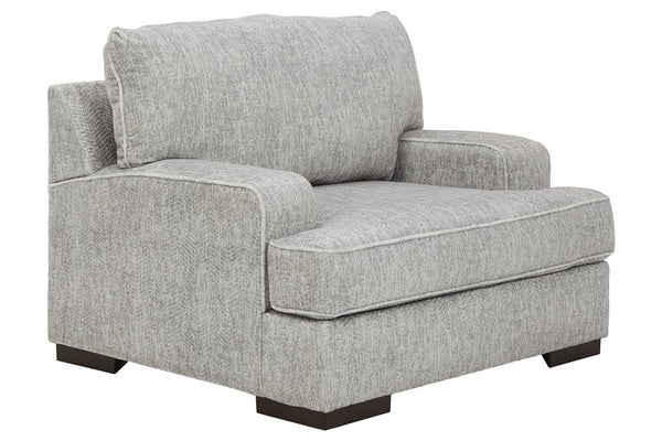 84604 Mercado Pewter Oversized Chair