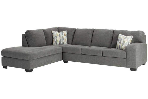 85703 Dalhart Charcoal 2-Piece LAF Chaise Sectional
