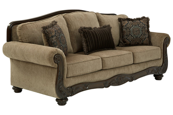 85905 Briaroaks Mocha Sofa & Loveseat