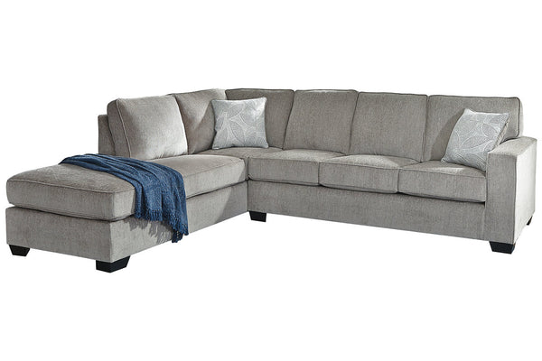 87214 Altari Alloy 2-Piece LAF Chaise Sleeper Sectional