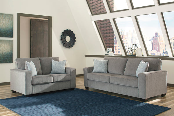 87214 Altari Alloy Sofa & Loveseat