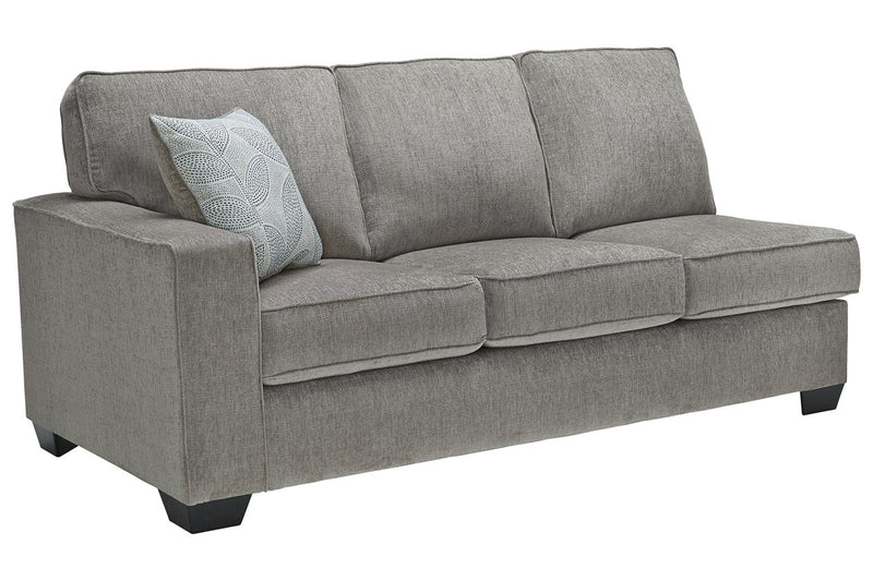 87214 Altari Alloy 2-Piece RAF Chaise Sleeper Sectional