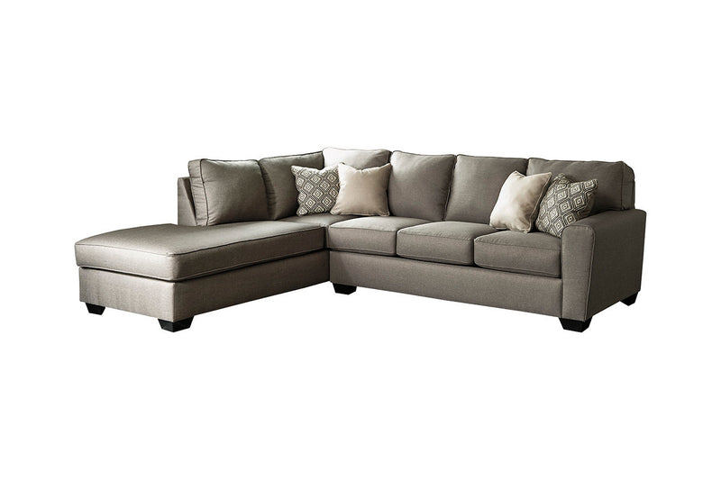 91202 Calicho Cashmere 2-Piece LAF Chaise Sectional