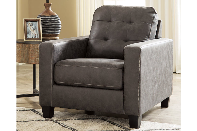 91501 Venaldi Gunmetal Chair