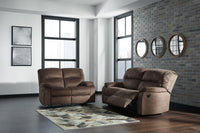 93802 Bolzano Coffee Reclining Sofa & Loveseat