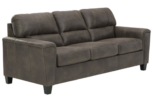 94002 Navi Smoke Sofa & Loveseat