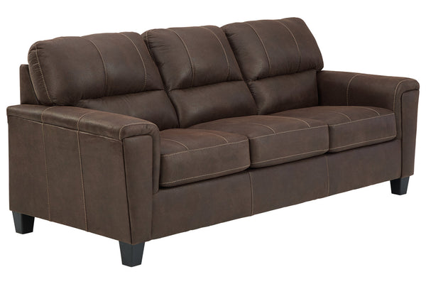94003 Navi Chestnut Sofa & Loveseat