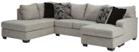 96006 Megginson Storm 2-Piece LAF Chaise Sectional