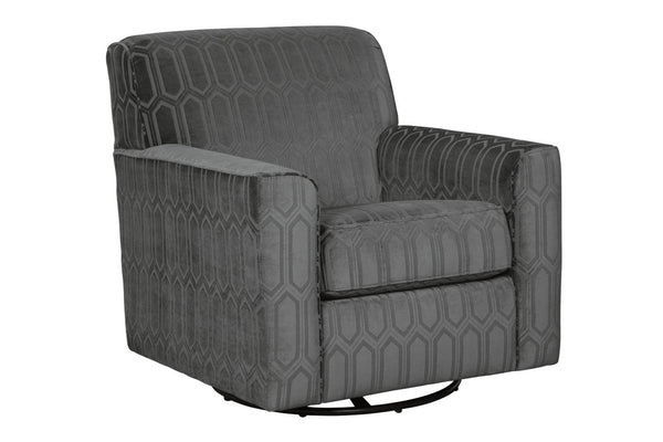 97704 Zarina Graphite Accent Chair