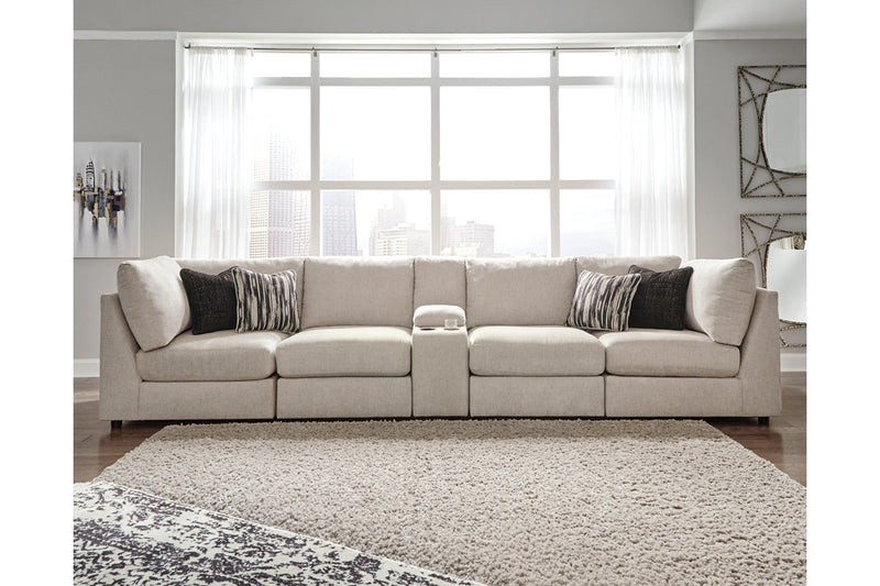 98707 Kellway Bisque 5-Piece Sectional | 98707S4 | by Ashley | Nova Furniture