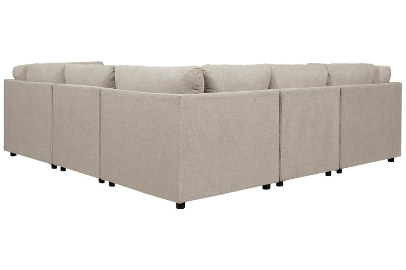 98707 Kellway Bisque 5-Piece Sectional