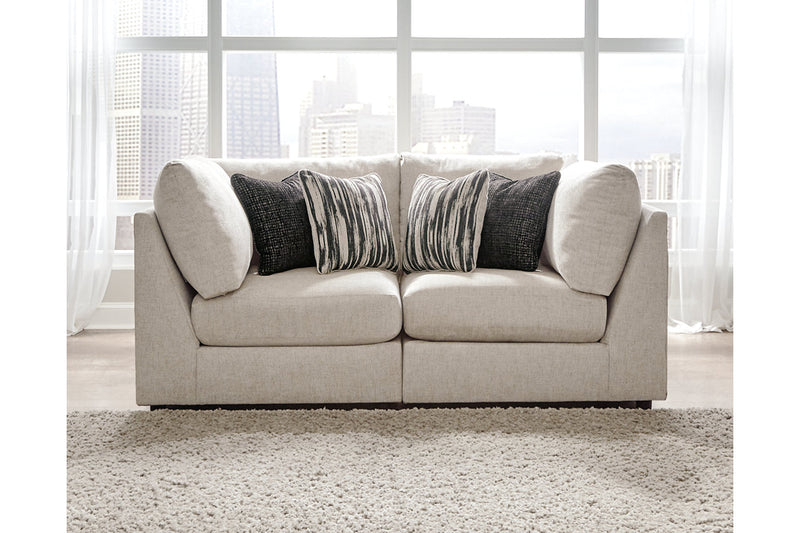 98707 Kellway Bisque 2-Piece Sectional | 98707S2 | by Ashley | Nova Furniture