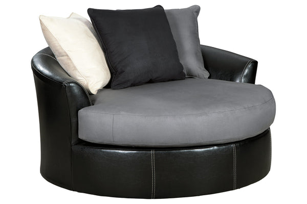 99804 Jacurso Charcoal Oversized Chair