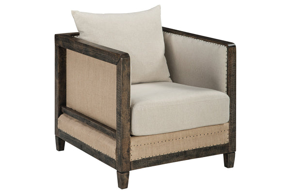 A3000021 Copeland Linen Accent Chair