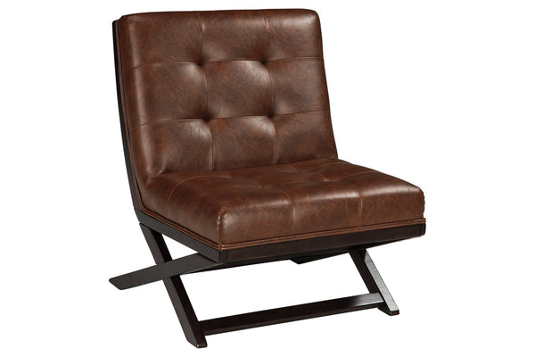 A3000031 Sidewinder Brown Accent Chair