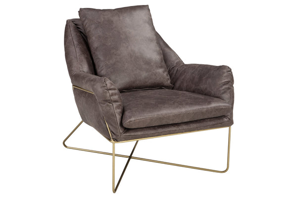 A3000040 Crosshaven Dark Gray Accent Chair