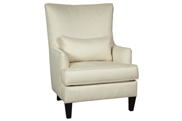 A3000044 Paseo Ivory Accent Chair