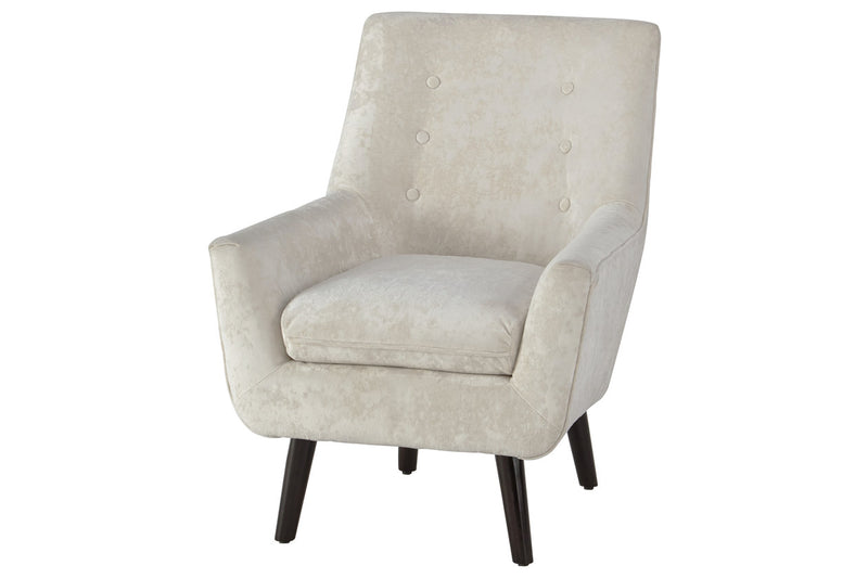 A3000045 Zossen Ivory Accent Chair