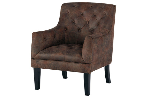 A3000051 Drakelle Mahogany Accent Chair