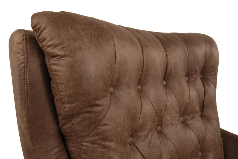 A3000052 Velburg Brown Accent Chair