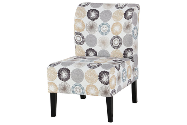 A3000063 Triptis Gray/Tan Accent Chair