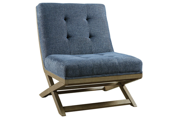 A3000134 Sidewinder Blue Accent Chair