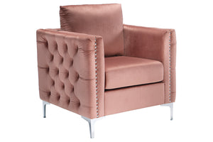 A3000196 Lizmont Blush Pink Accent Chair