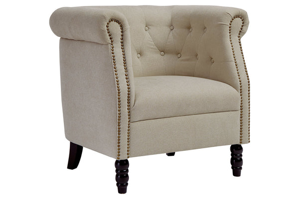 A3000203 Jacquelyne Natural Accent Chair